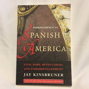 Independence In Spanish America Softcover